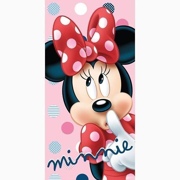 Minnie Mouse strandlaken 70x140 - Dots