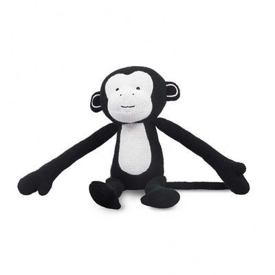 Monkey knuffel - Zwart