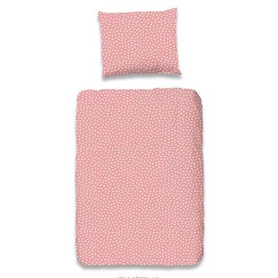 Lilian peuterdekbedovertrek 120x150 - Roze