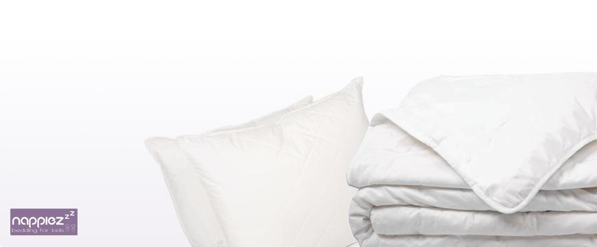 Nappiez dekbedden en nappiez kussen