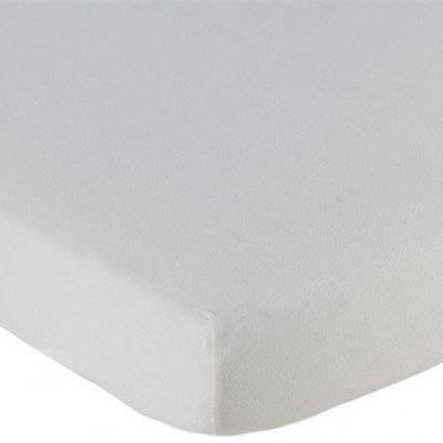 Hoeslaken 70x150 off white Katoen