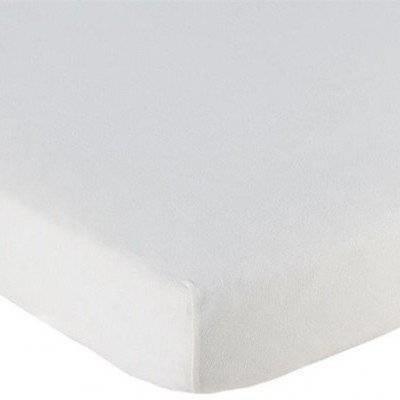 Hoeslaken 70x150 wit Katoen