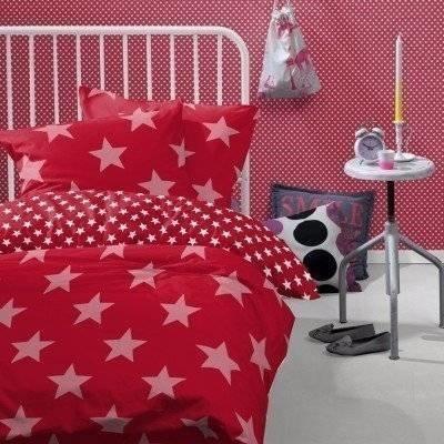 Starville peuter dekbedovertrek 120x150 red