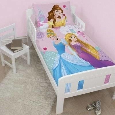 Princess 'betoverend' peuter dekbedovertrek 120x150
