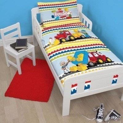 LEGO peuter dekbedovertrek 120x150 Blocks