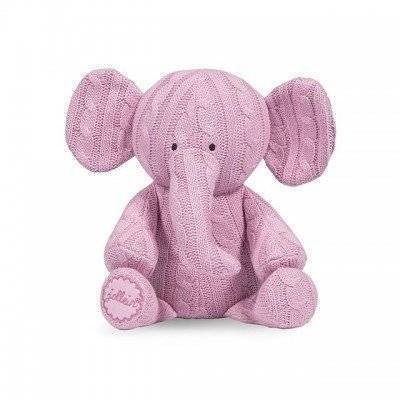 Knuffel Cable elephant lichtroze