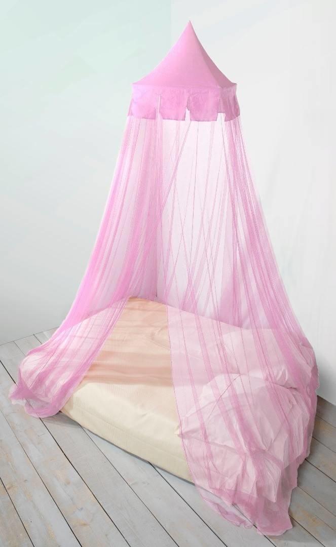 Klamboe roze (rond)
