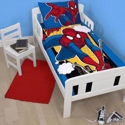 Spiderman peuter dekbedovertrek 120x150 Webhead