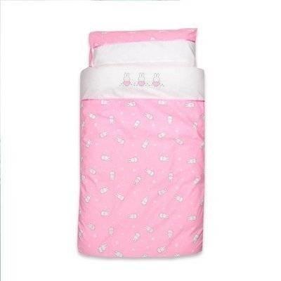 Nijntje peuter dekbedovertrek 120x150 roze