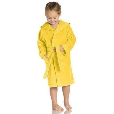 Texie kinderbadjas Sunflower - Maat 80/86