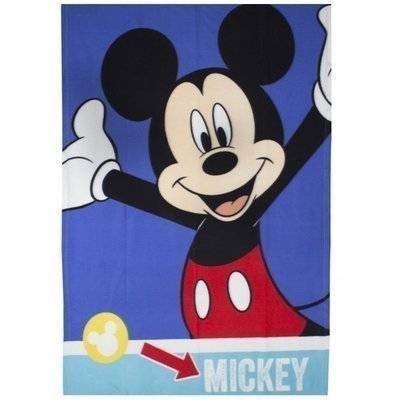 Mickey Mouse Smiles - Fleece plaid 100x150