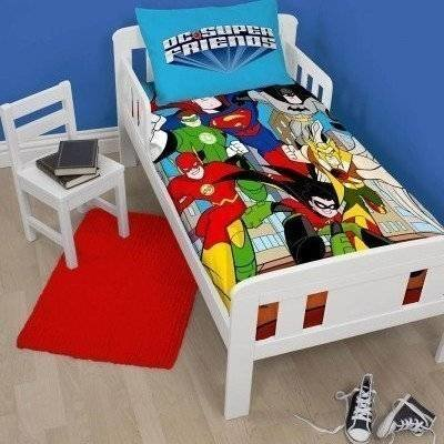 DC Super Friends peuter dekbedovertrek 120x150