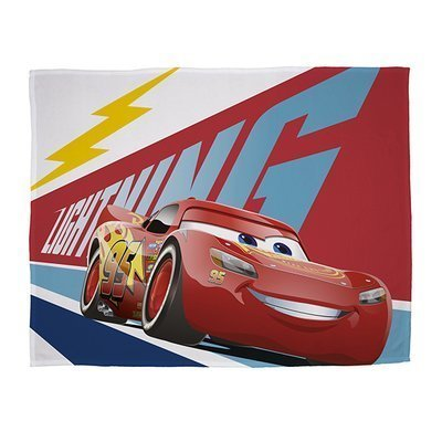 Cars Lightning - Fleece plaid 100x150