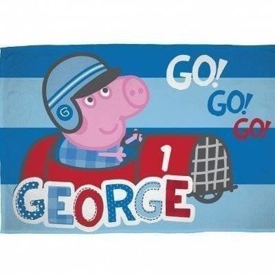 Peppa Pig George Speed - Fleece plaid 100x150