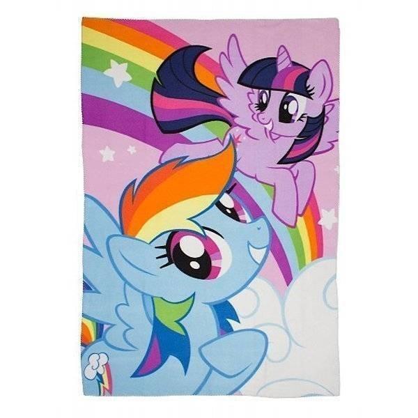 My Little Pony - Fleece plaid 100x150