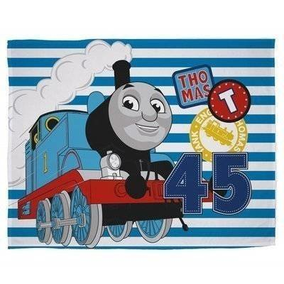 Thomas and Friends Patch - Fleece plaid 100x150