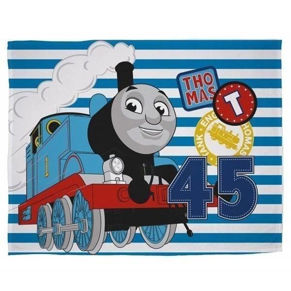 Thomas and Friends Patch - Fleece plaid 100x150