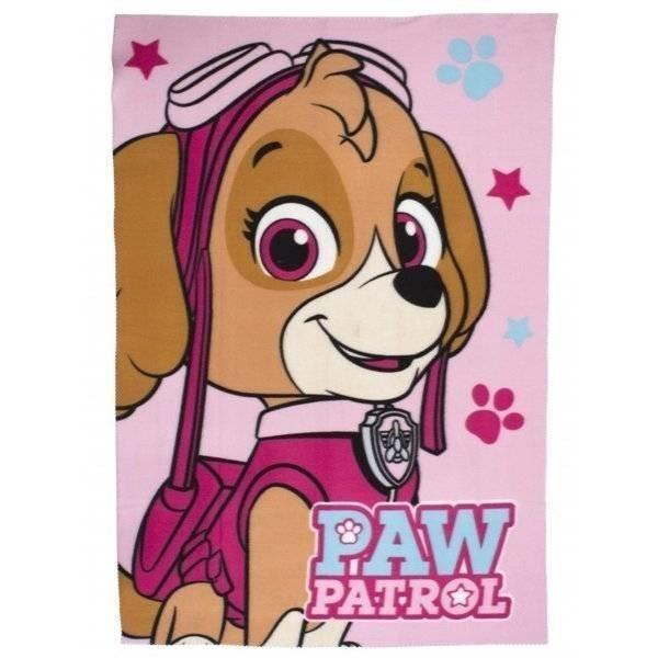 PAW Patrol Stars - Fleece plaid 100x150