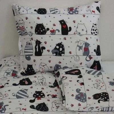 Happy Cats peuter dekbedovertrek 120x150