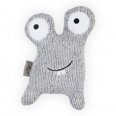 Knuffel Confetti Monster - Grey