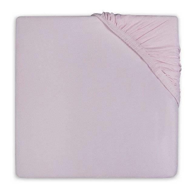 Hoeslaken 75x150 vintage pink katoen
