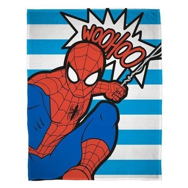 Spiderman Abstract - Fleece plaid 100x150