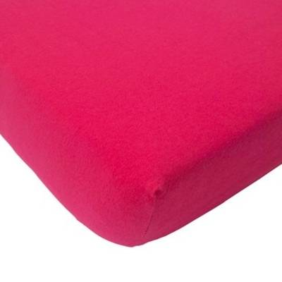 Hoeslaken 75x150 fuchsia - Organic Jersey