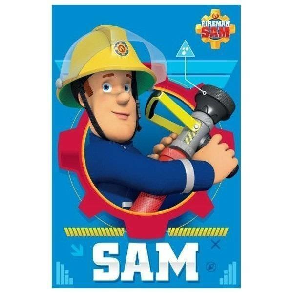Brandweerman Sam - Fleece plaid 100x150
