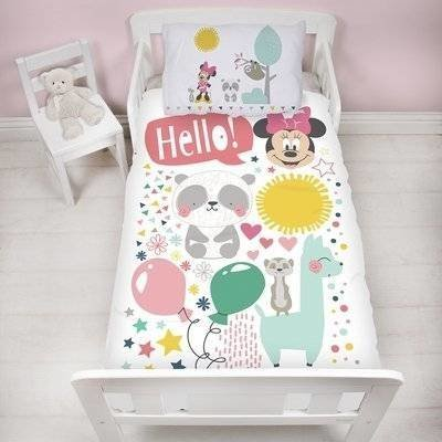 Minnie Mouse peuter dekbedovertrek 120x150 Friends