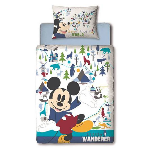 Mickey Mouse peuter dekbedovertrek 120x150 Wanderer
