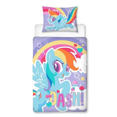 My Little Pony peuter dekbedovertrek 120x150 Dash