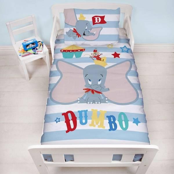 Dumbo peuterdekbedovertrek 120x150