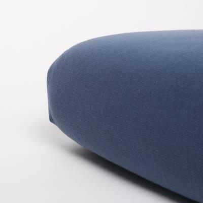 Jersey hoeslaken 70x150 - Blauw Indigo - Nappiez