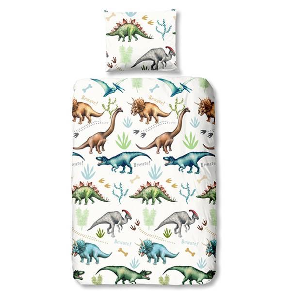 Dinosaurus peuterdekbedovertrek 120x150