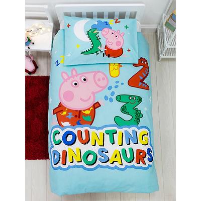 George Pig peuterdekbedovertrek 120x150 - Counting Dinosaurs