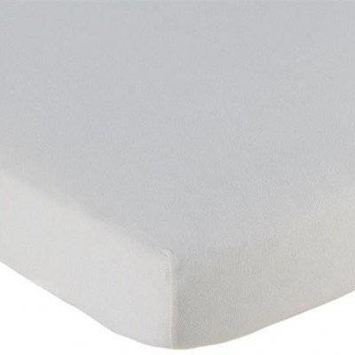 Hoeslaken 70x150 off white Jersey